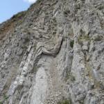 Pieghe nella Formazione di Livinallongo (Triassico -Ladinico)