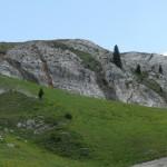 Panoramica delle intrusioni magmatiche (filoni lavici)