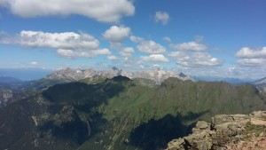 Panorama da Cima Juribrutto